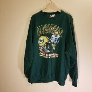 Tops - Green Bay Packer vintage sweatshirt